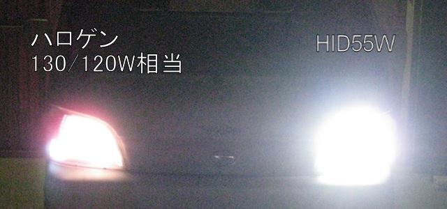 S201P 5100KハロゲンHID化
