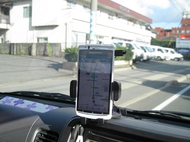スマートフォン用カークレードル「SPA-CK10」